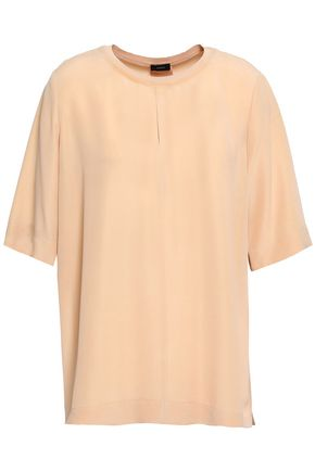 JOSEPH Washed-silk top