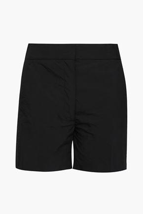 JOSEPH Windsor crinkled cotton-blend shorts