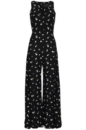 PAPER London Silk-satin jumpsuit