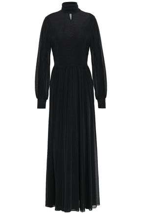 DIANE VON FURSTENBERG Stretch-jersey turtleneck maxi dress