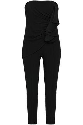 DIANE VON FURSTENBERG Strapless crepe jumpsuit