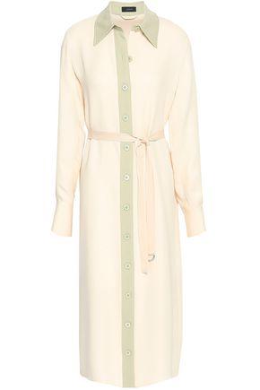 JOSEPH Silk-crepe midi dress