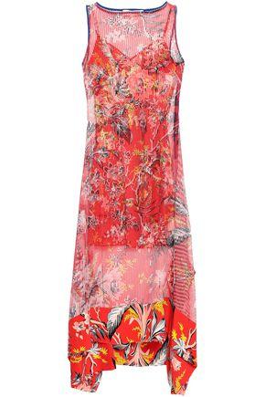 DIANE VON FURSTENBERG Floral-print crepe de chine midi dress