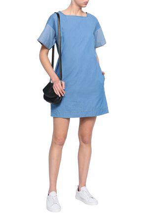 CHINTI AND PARKER Cotton-chambray mini dress