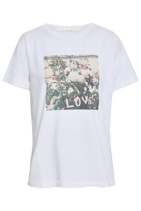 CHINTI AND PARKER Printed cotton-jersey T-shirt