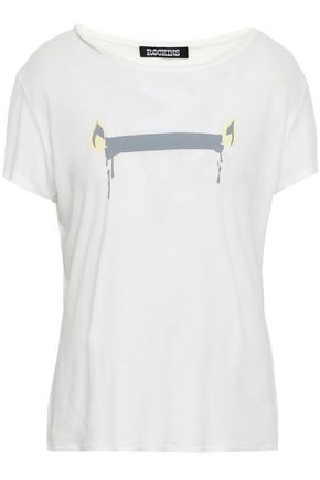 ROCKINS Printed cotton-jersey T-shirt