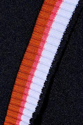 PETER PILOTTO One-shoulder cutout stretch-knit dress