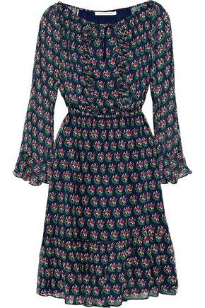 DIANE VON FURSTENBERG Simonia floral-print silk-chiffon dress
