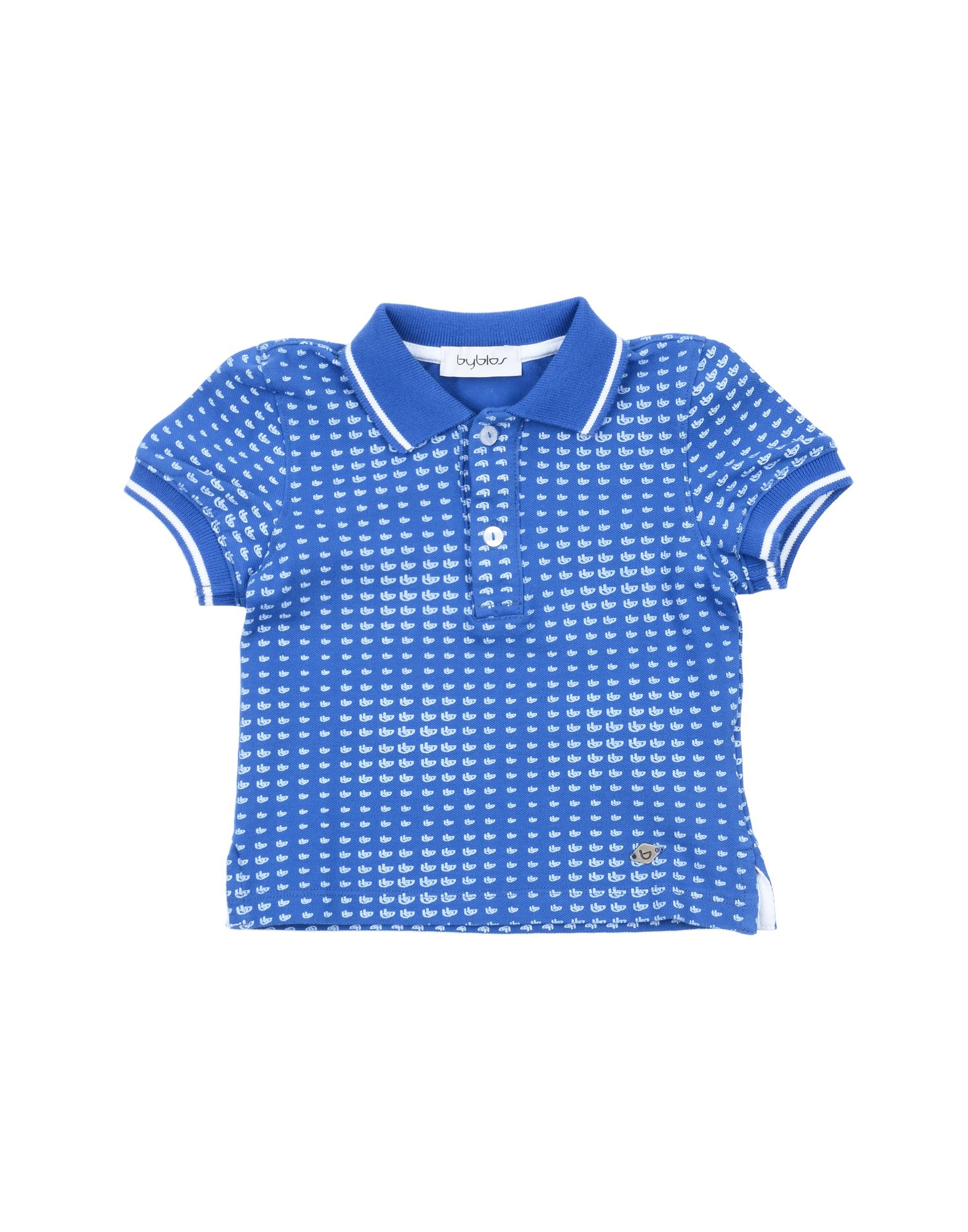 Byblos Kids' Polo Shirts In Blue