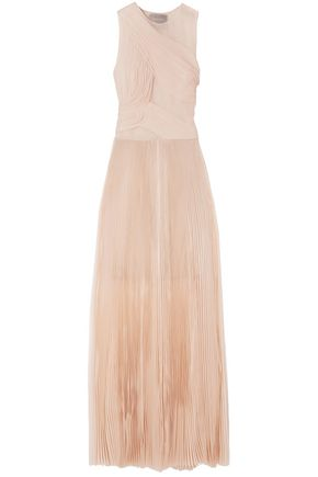 JASON WU Pleated silk-organza gown