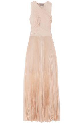 4cffd16cab47 JASON WU Pleated silk-organza gown