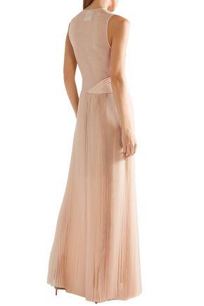 JASON WU Pleated silk-organza gown