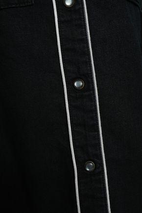 ROCKINS Cotton-chambray shirt