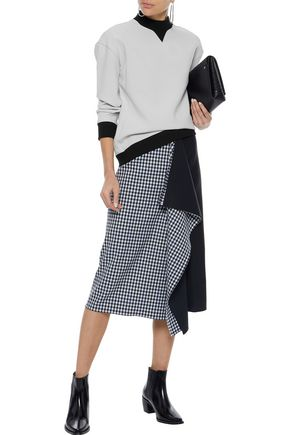 DEREK LAM 10 CROSBY Crepe top