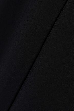 CUSHNIE Crepe wide-leg jumpsuit