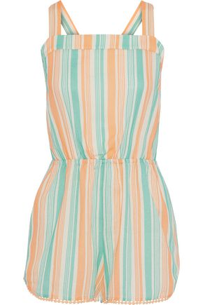TART COLLECTIONS Hailey cotton-gauze playsuit