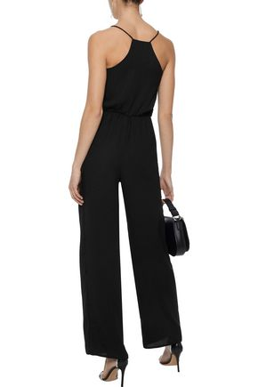 W118 by WALTER BAKER Carrie embellished crepe jumpsuit