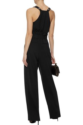 W118 by WALTER BAKER Cindy embellished crepe de chine top