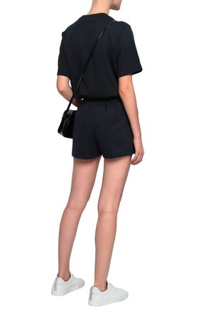 MARKUS LUPFER Embellished stretch-jersey shorts