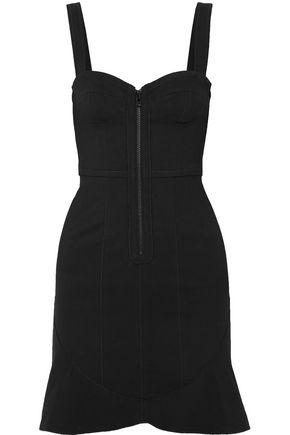 ISABEL MARANT Jayme cotton-blend stretch-crepe mini dress