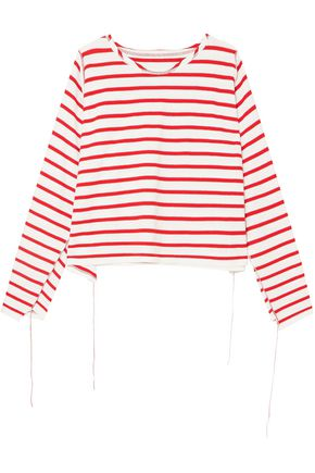 MAISON MARGIELA Striped cotton top
