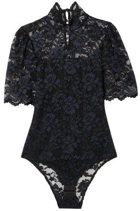 GANNI Lace bodysuit