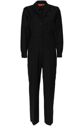 ALEXACHUNG Stretch-wool jumpsuit