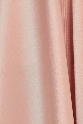 AMANDA WAKELEY Satin gown