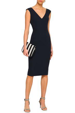 AMANDA WAKELEY Stretch-crepe dress