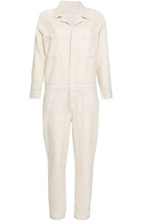MOTHER Cotton-blend gabardine jumpsuit