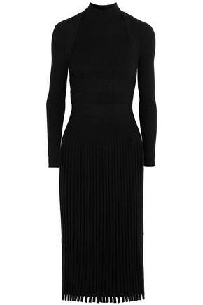 CEDRIC CHARLIER Ribbed-knit dress