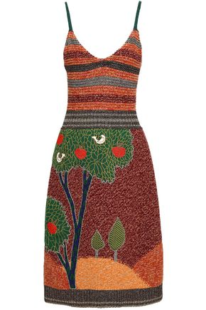 REDValentino Wool-blend jacquard dress