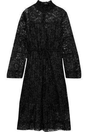 SEE BY CHLOÉ Plissé-lace dress