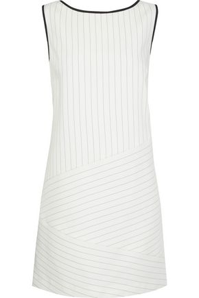RACHEL ZOE Isadora pinstriped poplin mini dress