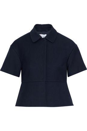 REDValentino Fluted cotton-blend jacket