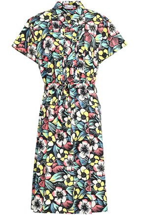 REDValentino Floral-print stretch-cotton dress
