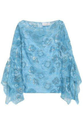 PETER PILOTTO Metallic lace top