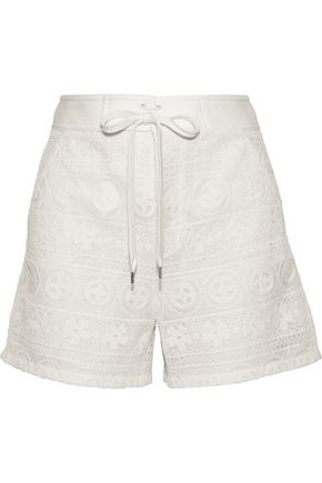 REDValentino Crocheted shorts