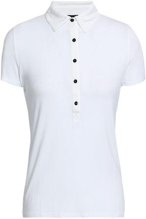 JOSEPH Stretch-jersey polo shirt