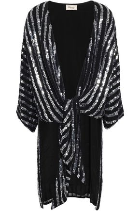 TEMPERLEY LONDON Sequined woven jacket