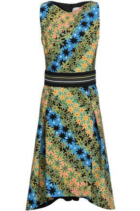 ANCIENT GREEK SANDALS x PETER PILOTTO Floral-print cady dress