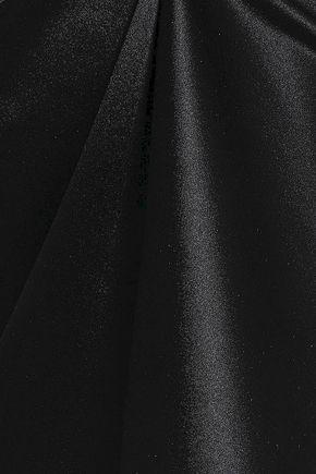 HELMUT LANG Zip-embellished silk-satin camisole