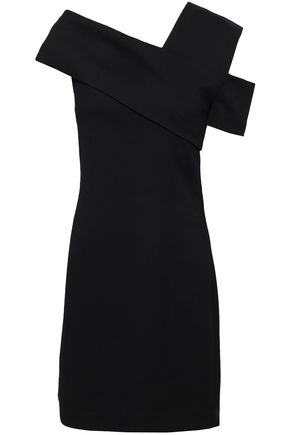 HELMUT LANG Wool-blend neoprene mini dress