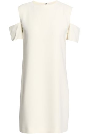 HELMUT LANG Cold-shoulder woven mini dress