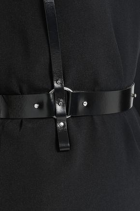 HELMUT LANG Stretch-crepe mini dress