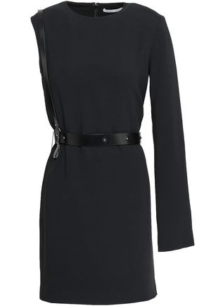 HELMUT LANG Stretch-crepe mini dress