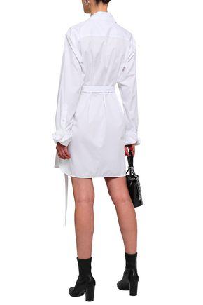 HELMUT LANG Cotton mini shirtdress