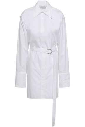 HELMUT LANG Cotton mini shirtdress