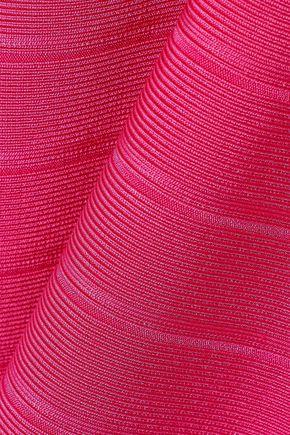 HERVÉ LÉGER Cutout bandage gown