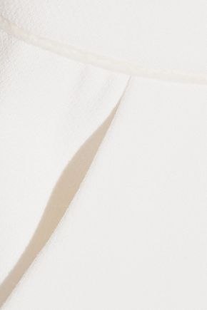 ROKSANDA Ruscha open-back bow-detailed crepe jumpsuit
